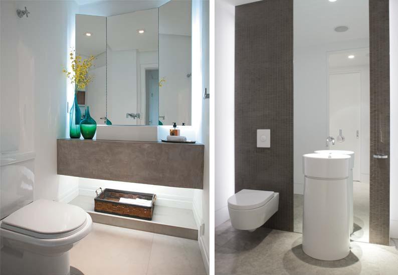decoracao e lavabo:Arquitetura e Decoração: LAVABOS