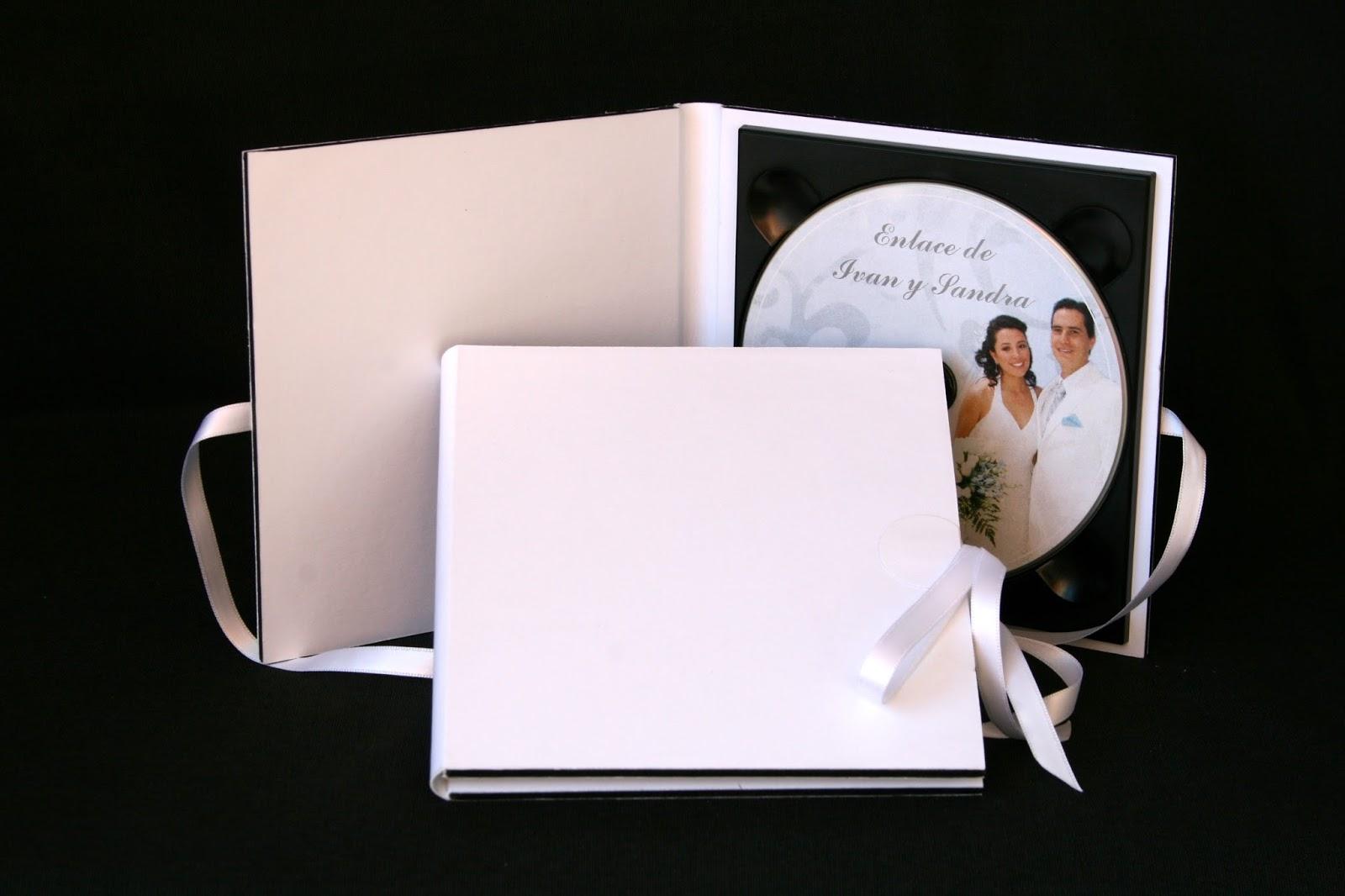 Pareja estuche 1 DVD  Basic Blanco abierto