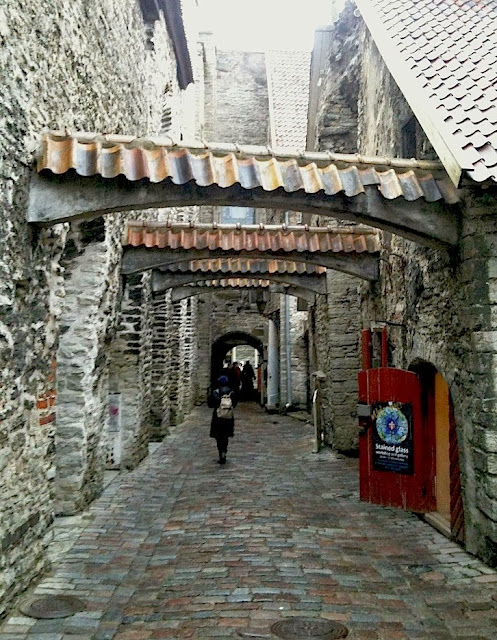 St. Catherine's Passage in Tallinn