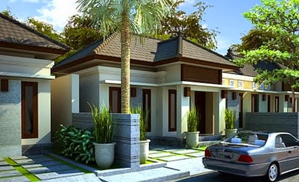 model rumah minimalis Type 45 6