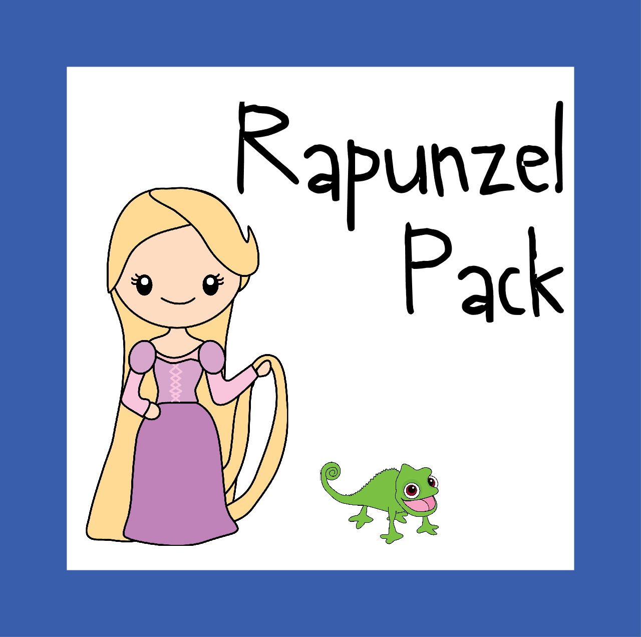 FREE Rapunzel Worksheets for Kids – Preschool Worksheets Age 4