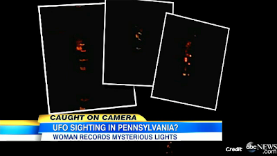 UFO Caught on Camera in Pennsylvania, as Reported on Good Morning America