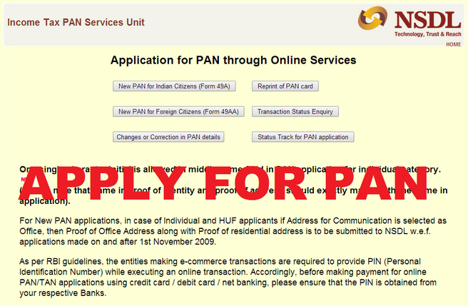 How to Apply for Pan Card Offline Online in Hindi