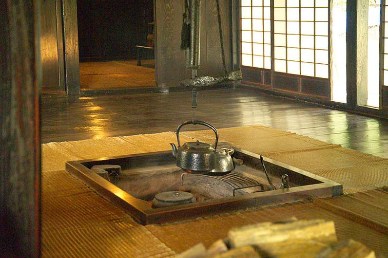 Kitchen in traditional japanese house japan culture center for Traditional japanese kitchen