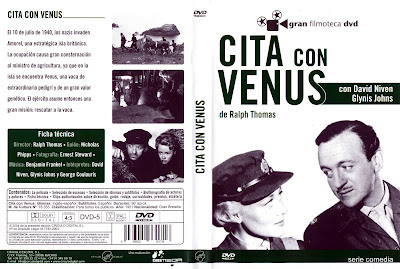 Carátula dvd: Cita con Venus 1951