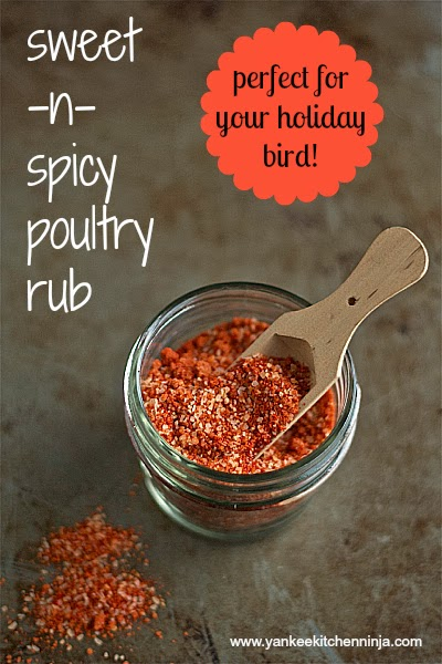 sweet and spicy poultry rub
