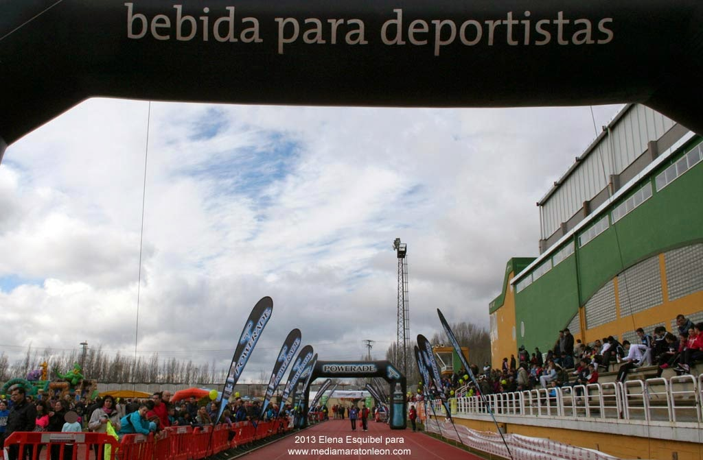 Media Maraton de Leon 2014