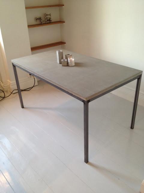 Runadesign Tillverkar Marmorbord, Soffbord, Matbord, Sideboard, Hjälper Hur Man Gör Betongbord