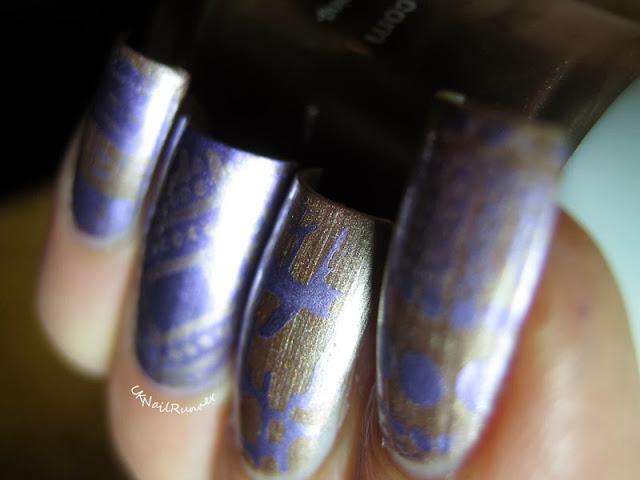 Binky London Grosvenor Gold and Pimlico Purple