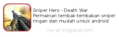 Ikon game sniper hero - death war (review oleh rev-all.blogspot.com)