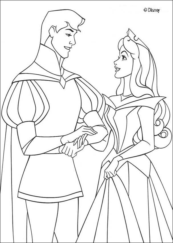 sleeping beauty coloring pages disney - photo#33