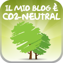Il mio blog è CO2-Neutral