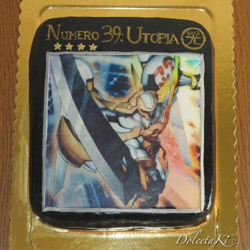 yu gi ho utopia torta