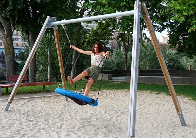 parque infantil ribera pisuerga