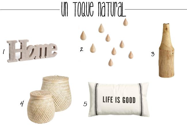 accesorios en madera y fibras naturales