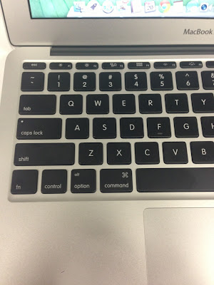 macbook air mid 2013 USキーボード QWERTY