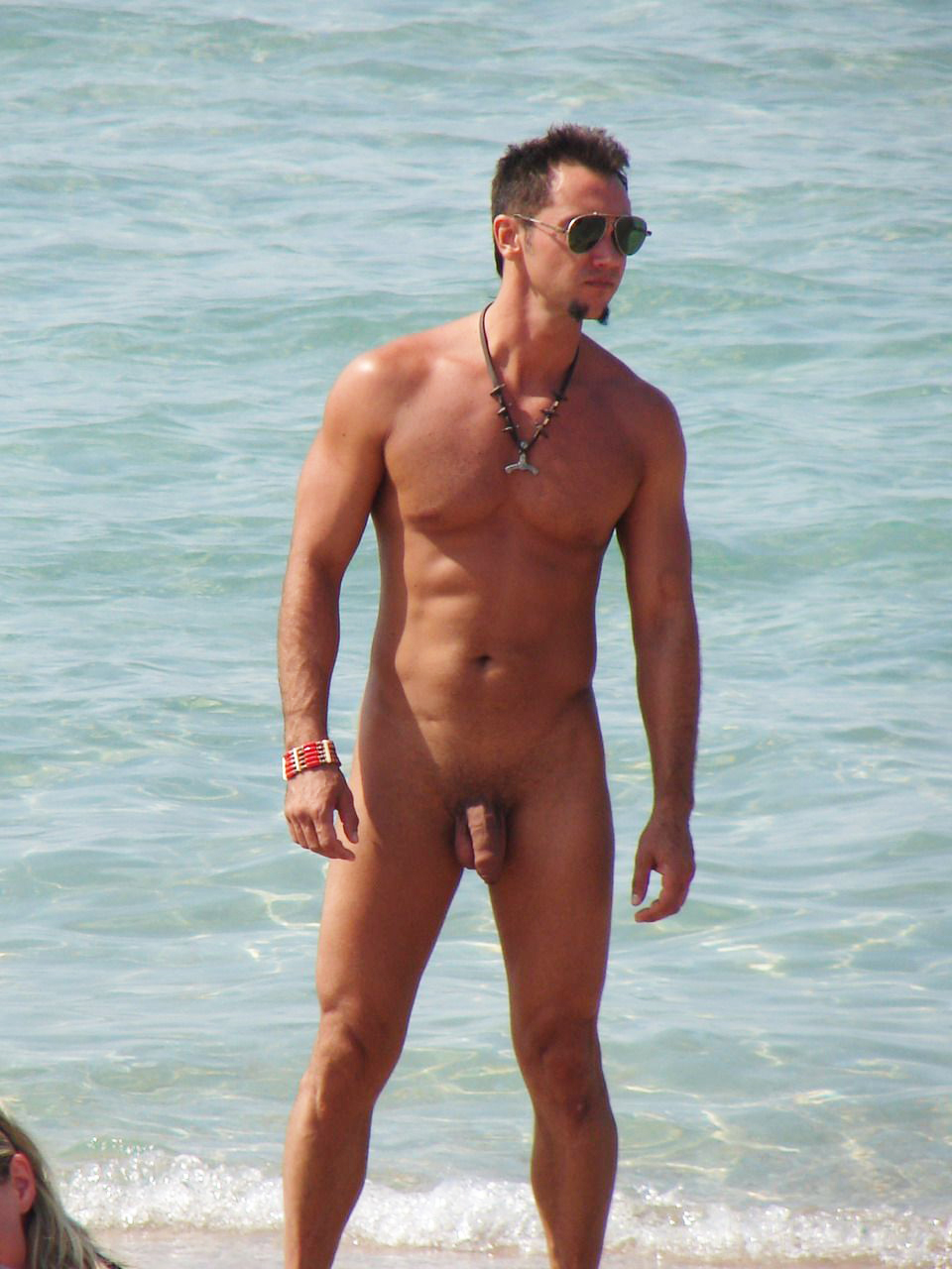 beach male naked