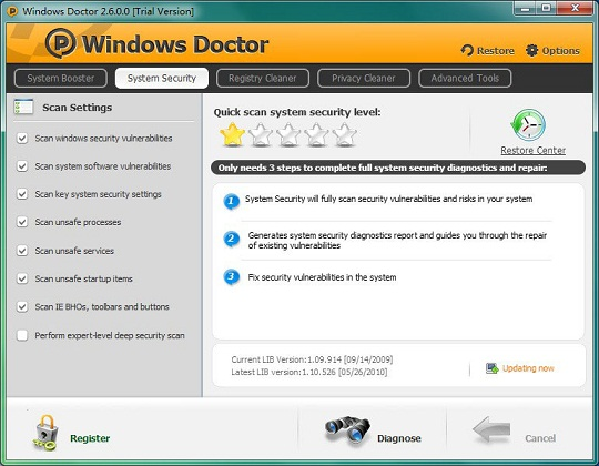 برنامج Windows Doctor