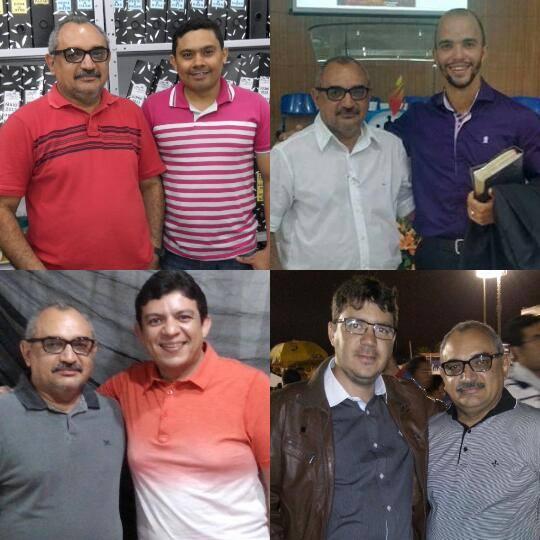 Linaldo, Ian, Leonardo e Julio Luiz