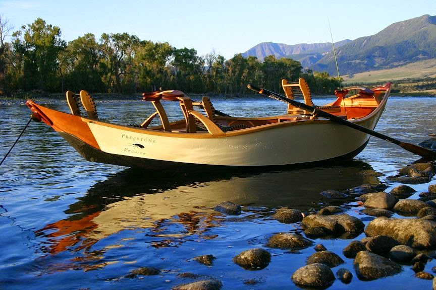 Fly fishing traditions kingfisher drift boat build the for Build fishing boat