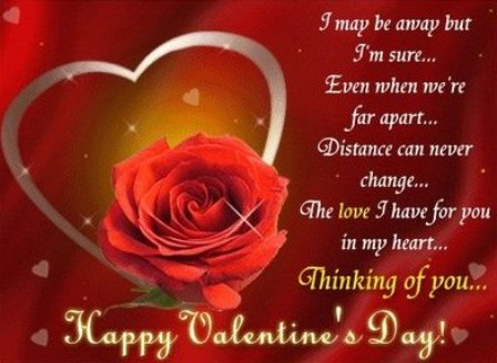 Valentine Day Love Greeting Cards With Quotes