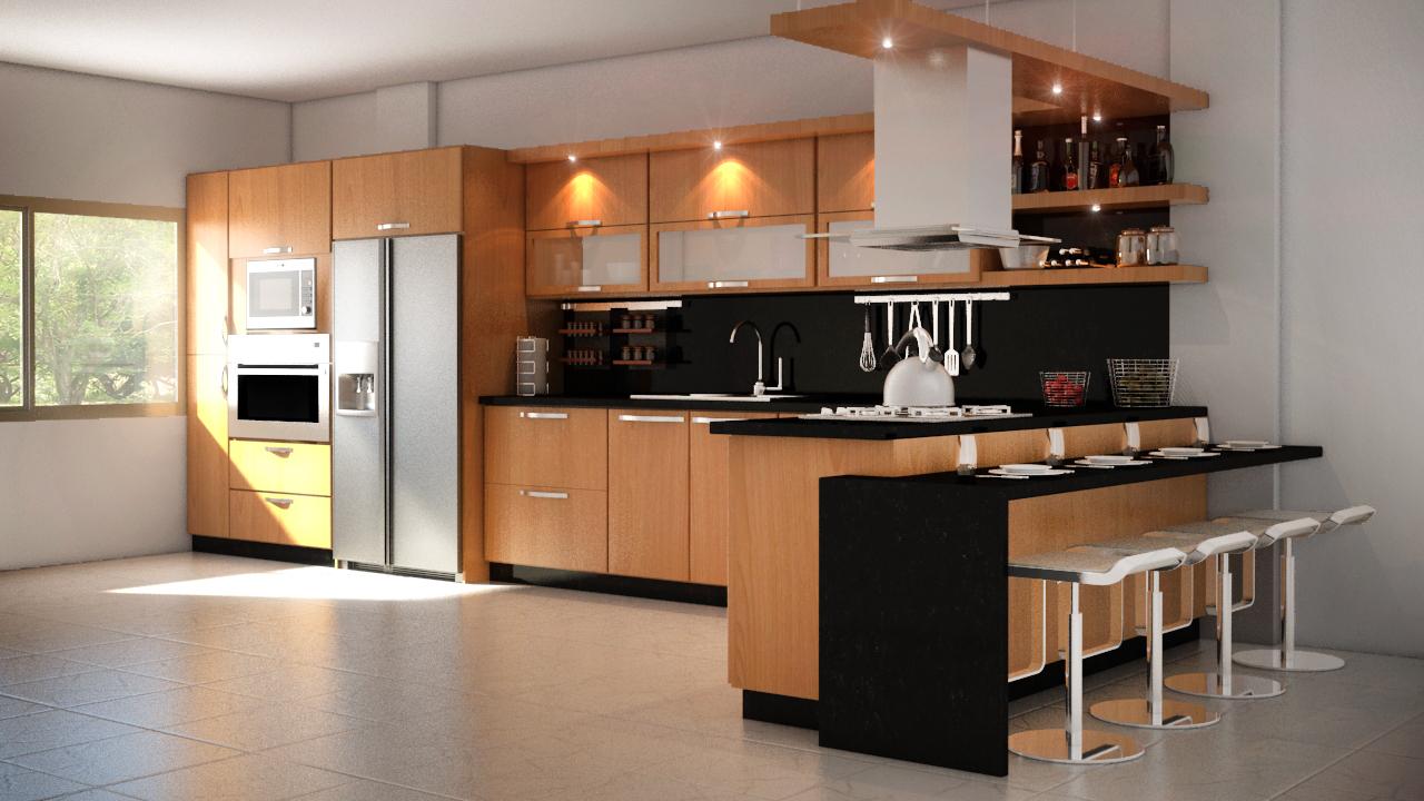 Roman molina dise o 3d - Diseno cocina 3d ...