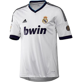 Kostum Home Real Madrid 2012-2013