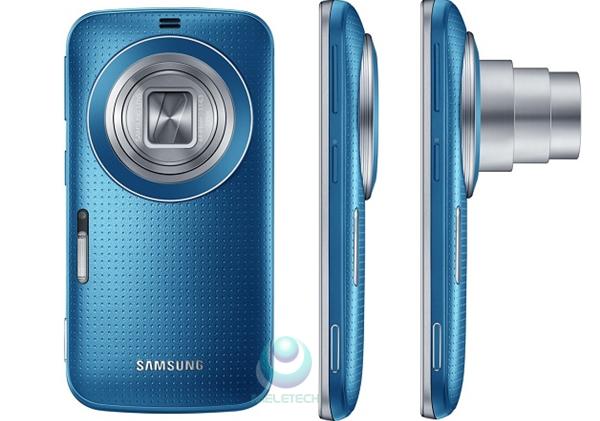 kamera Samsung Galaxy K Zoom