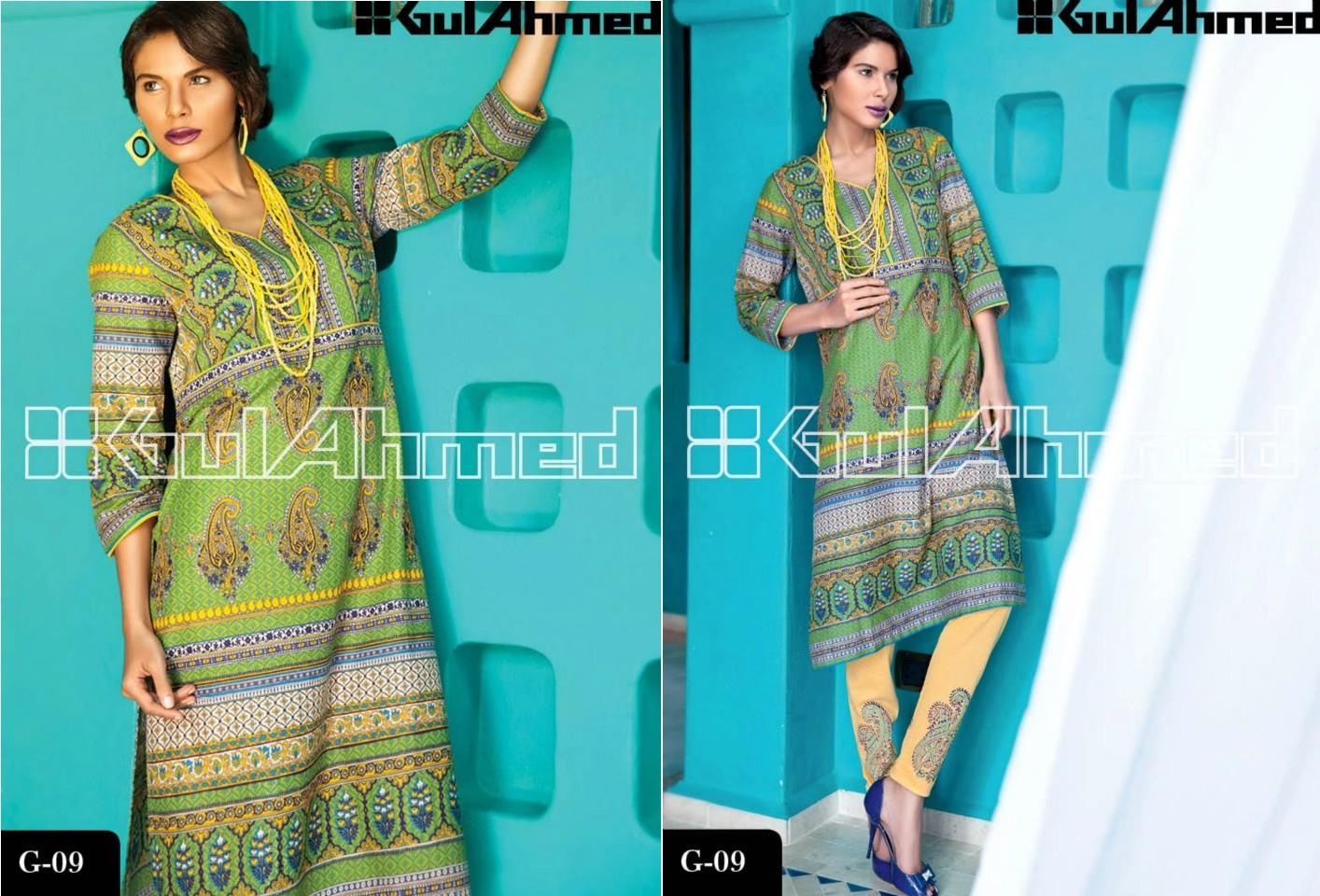 Gul Ahmed Signature Lawn Series Magazine 2013 - Clothing9 | Latest ...
