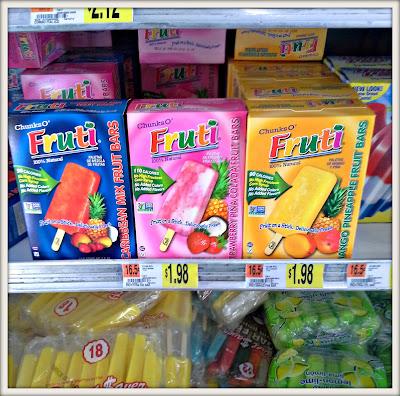Frozen Fresh Fruit bars #FreshnFruti