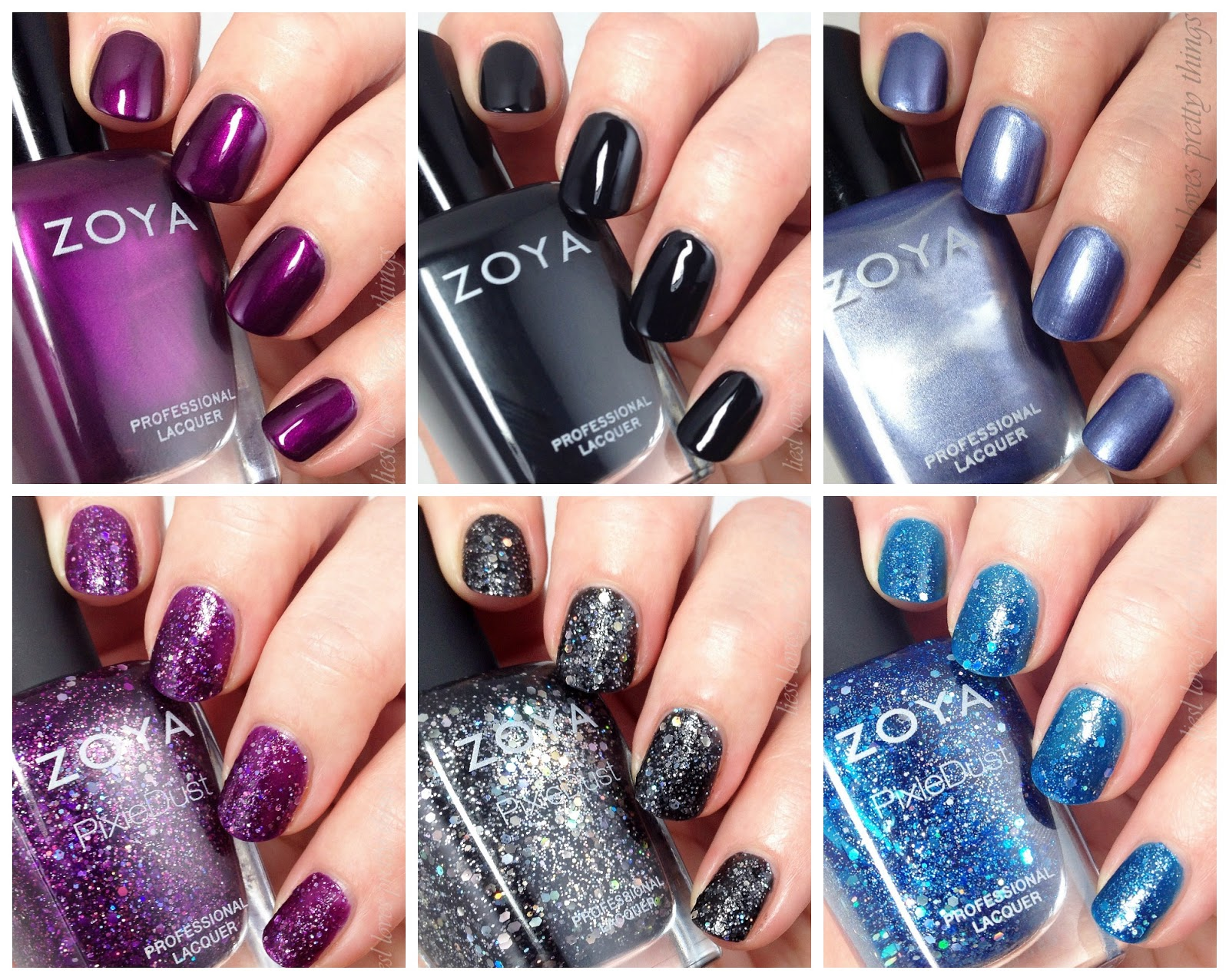 Zoya Wishes-- Winter 2014 swatch and review