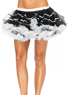 Satin Stripe Petticoat