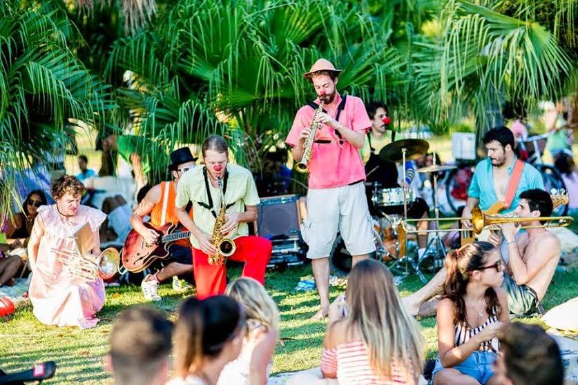 """Sucos Greenday cria espaço ao ar livre para picnic, com atrações gratuitas e """"Instabike"""" de fotos na Lagoa"""