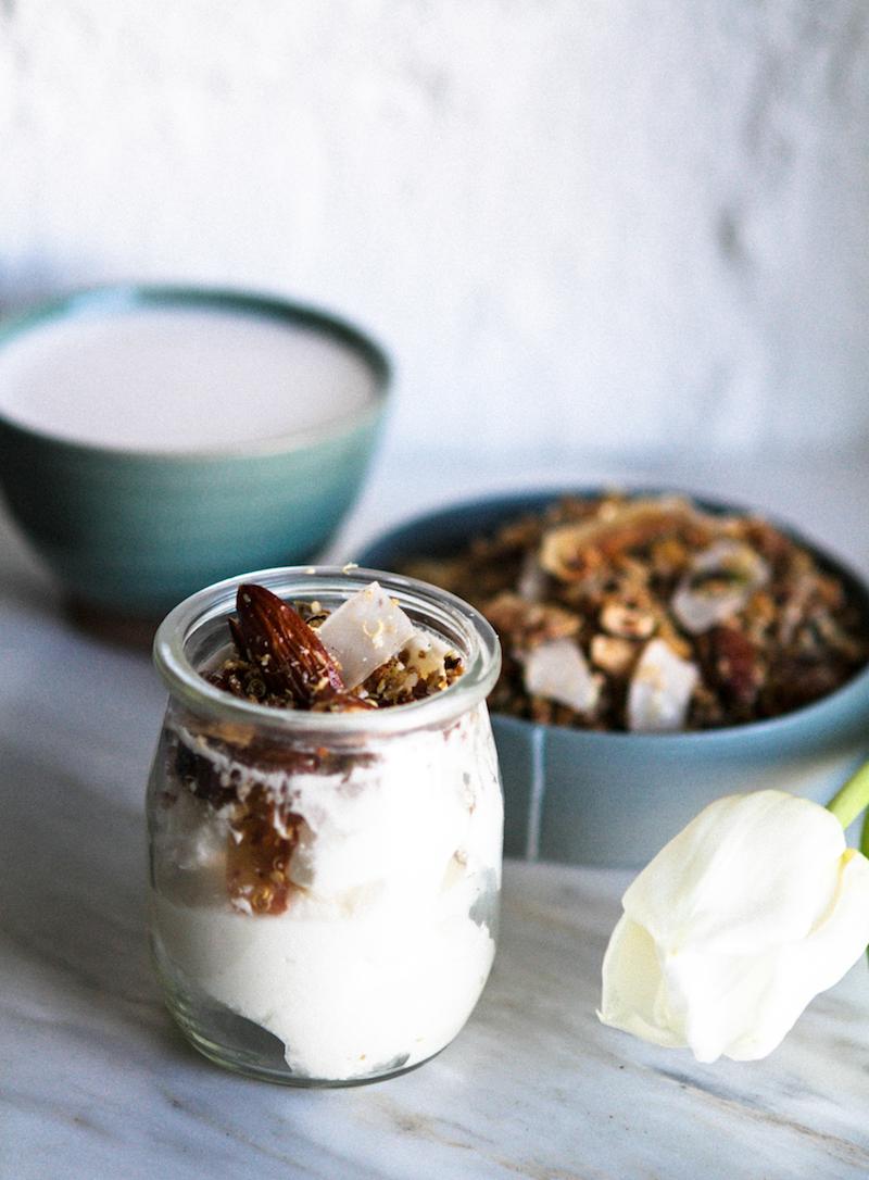 Gluteeniton kvinoamysli