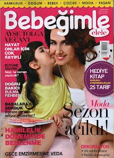 Bebebğimle Elele dergisi Şubat - Mart 2014 sayısı