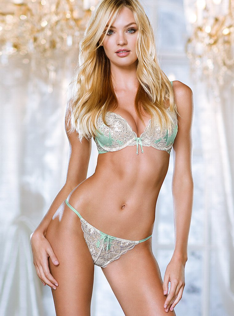 Candice Swanepoel Victoria's Secret Lingerie Photoshoot ...