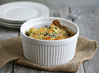 Light Broccoli Gratin