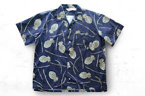 Outstanding & co- Hawaian Shirt/ PINEAPPLE