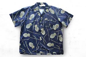 Outstanding & co- Hawaian Shirt/ PINEAPPLE