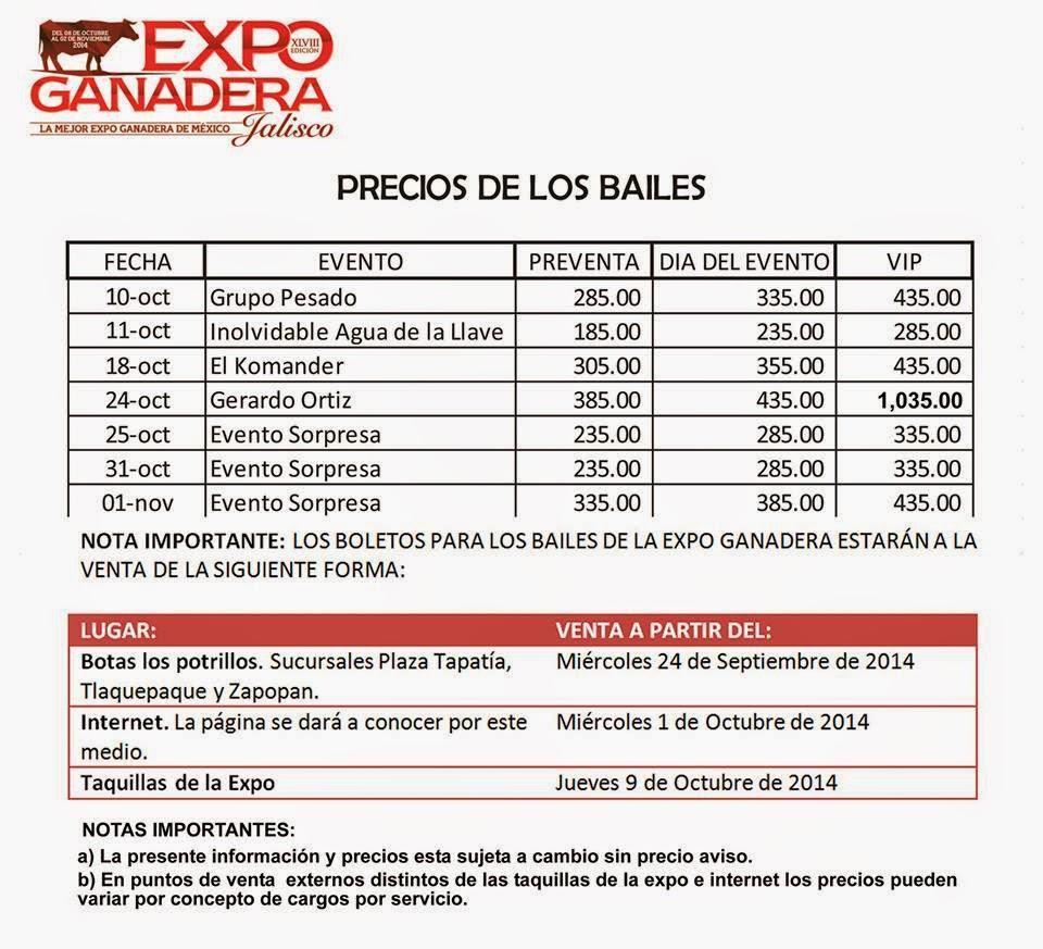 Expo ganadera jalisco 2014 gerardo ortiz