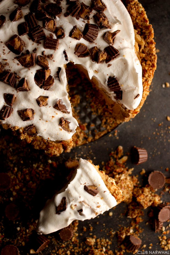 Cookie Crusted Peanut Butter Pretzel Pies Recipes — Dishmaps