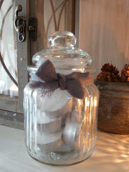 Tiny Jar For Tea Lights