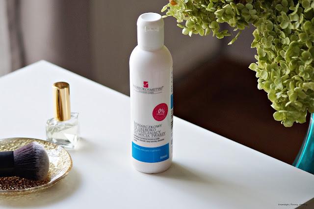 pielęgnacja cery mieszanej, Biosiarczkowy żel do mycia twarzy
