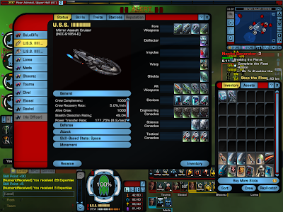 Star Trek Online - Starship Equipment Window