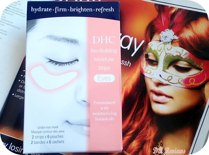 The DHC Revitalizing Moisture Strips(Eyes)