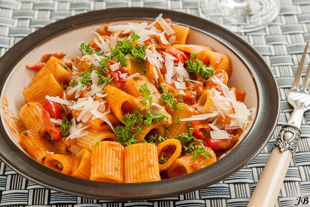 pasta tomaat gehakt