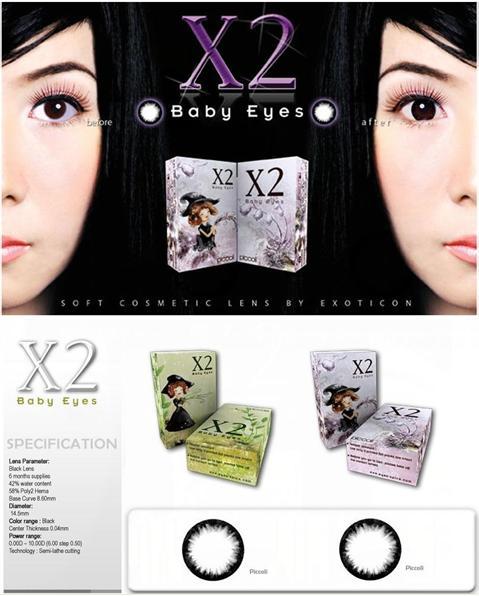 Jual Softlens X2 Baby Eyes Picolli  45722c9856