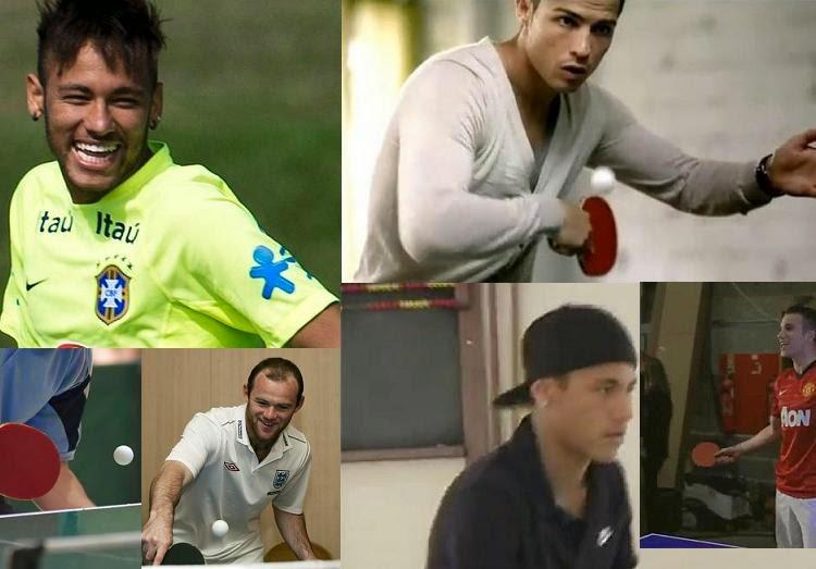 Rooney And Van Persie And Ronaldo Neymar Ronaldo Rooney Van