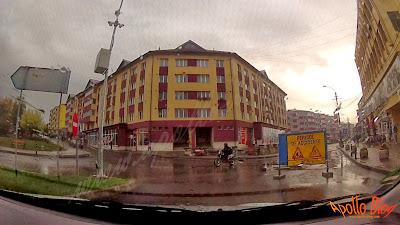 Drum in lucru Toplita