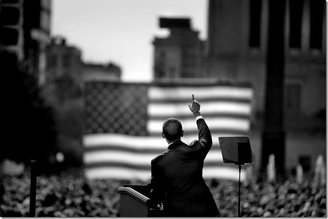Damon Winter, campaña electoral de Barack Obama